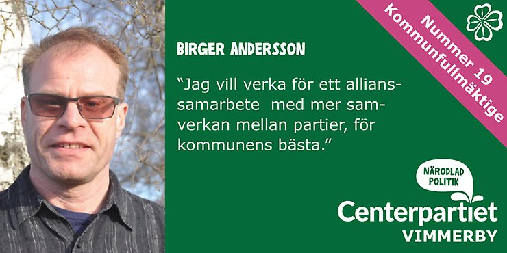 19. Birger Andersosn